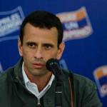 Capriles achaca la violencia al gobierno