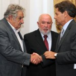 Mujica asiste a asunción de ministro Larrieux como presidente de la SCJ