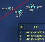 Imágenes satelitales muestran 122 objetos en la zona de búsqueda del avión de Malaysia Airlines