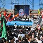 """""""Nunca más"""": multitudinaria Marcha por el Día de la memoria desbordó la Plaza de Mayo en Buenos Aires"""