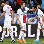 Sin Cavani, el PSG continúa líder con los goles de Lavezzi e Ibrahimovic