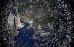 Proponen utilizar láser para desintegrar la basura espacial desde la Tierra