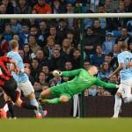 City venció 3-1 al West Bromwich y no se baja de la pelea por la Premier