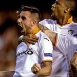 Remonta histórica: triplete de Alcácer pone al Valencia en semifinales de Europa League
