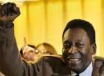 Diamantes hechos con el pelo de Pelé, presentados al mercado por el futbolista