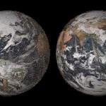 """La NASA publica imagen de su """"Global Selfie"""" con 36.000 selfies de redes sociales"""