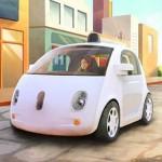 Nuevo prototipo de auto de Google maneja solo y ya no trae volante para asistirlo