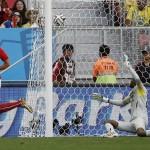 Suiza venció a Ecuador por 2 a 1 definiendo el partido en el último minuto