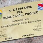 Asamblea General conmemora el martes 17 en Sauce los 250 años del natalicio de Artigas