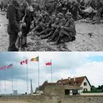 Normandía ayer y hoy: 10 fotos de puntos emblemáticos del D-Day