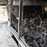 El joven que robó diversos bienes de la escuela de Flor de Maroñas provocó el incendio con alcohol en gel