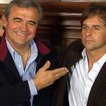 """Larrañaga y Lacalle Pou se reunieron en Montevideo, hablaron del Partido Nacional y """"de la vida"""""""