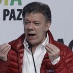 La izquierda colombiana llama a votar por la reelección del presidente Santos