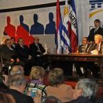Sesión solemne de la Asamblea General en Sauce conmemoró los 250 años del natalicio de Artigas