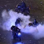 Incidentes violentos en festejos post Mundial en Buenos Aires