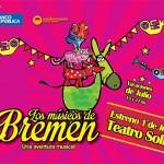 """""""Los Músicos de Bremen"""" en el Teatro Solís con descuentos de BROU"""