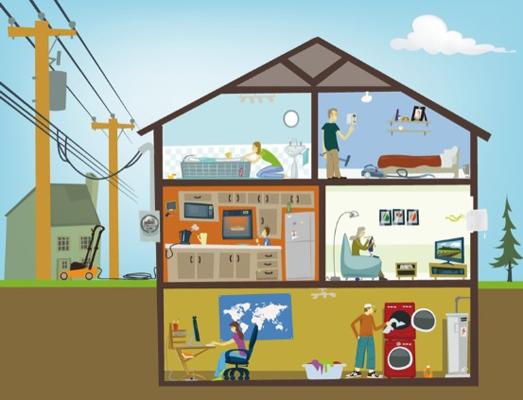 20 de los uruguayos que no ten an energ a el ctrica hace un a o ya acceden a ella noticias. Black Bedroom Furniture Sets. Home Design Ideas