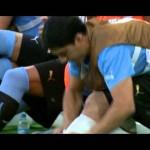 Así presentó @Subrayado, el informativo de Canal 10 de Montevideo, la incorporación del delantero uruguayo e ídolo de la selección al Barcelona.