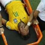 Neymar afuera del Mundial Brasil 2014 tras fractura de una vértebra