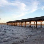 Comenzaron las obras de construcción del puente sobre la Laguna Garzón
