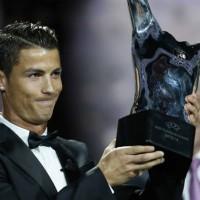 Cristiano Ronaldo es el mejor jugador de UEFA