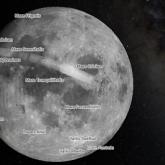 """Google Maps estrena recorrer la Luna y Marte y descubre figura """"humanoide"""""""