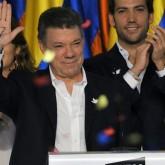 Presidente Santos asume en Colombia segundo mandato con meta de paz en su país