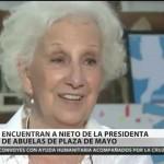 """Estela de Carlotto: """"Yo solo persigo justicia y verdad"""""""