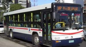 Este lunes aumenta el precio del transporte urbano de pasajeros. Se mantiene el boleto de Jubilado Categoría A