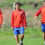Nacional recupera a sus jugadores lesionados