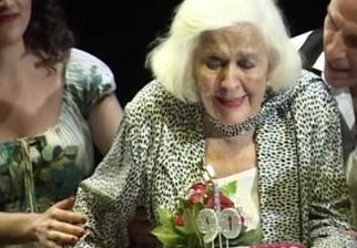 Video inédito de China Zorrilla en su despedida al teatro cuando cumplió 90 años