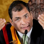 """El presidente de Ecuador critica """"intervención"""" de EEUU en América Latina"""
