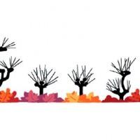 Doodle de Google recibe el otoño en el norte después de festejar primavera en el sur