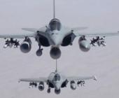 Fuerza Aérea de Francia bombardea al Estado Islámico y encabeza la coalición