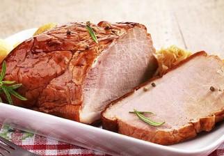 Lomo de cerdo con glaseado de dátiles y jengibre