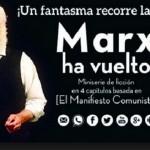 "Se presenta miniserie de ficción ""Marx ha vuelto"" en Facultad de Humanidades"