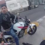 """""""Motochorro"""" grabado por turista al que robaba viraliza con 6,5 millones de visitas"""