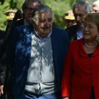 Bachelet se interesa por Ley uruguaya de marihuana y en recibir presos de Guantánamo