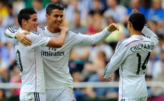 Real Madrid pasó por arriba al Deportivo La Coruña goleándolo 8-2