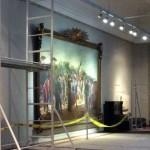 Restauran célebre cuadro de Blanes: Desembarco de los 33 Orientales