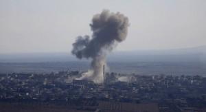 Israel derriba con un misil un avión caza de Siria por sobrevolar los Altos del Golán