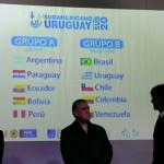 Uruguay quedó en el grupo más difícil en el Sudamericano Sub-20