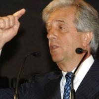 Tabaré Vázquez dijo sentirse contento de que otros partidos tomen las propuestas del Frente Amplio