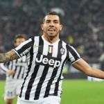 Tevez mantiene líder a la Juventus en la liga italiana