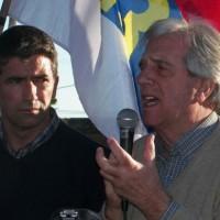 Tabaré Vázquez dijo que será fuerte contra el delito y narcotráfico pero más aún contra sus causas