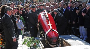 China Zorrilla fue despedida por su público y con honores fúnebres del gobierno