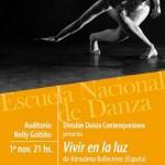 """División Danza Contemporánea presenta """"Vivir en la luz"""" y """"Recuerdo"""""""