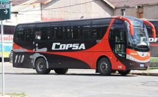 Paro de empresas de transporte de pasajeros Copsa, Eosa y Casanova por convenio salarial