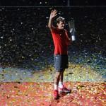 Federer logra el Masters de Shanghai, su título 81º de su carrera