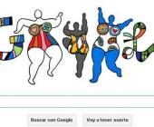 """Doodle de Google para Niki de Saint Phalle, la """"artista total"""" de nuestro tiempo"""